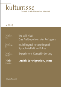 Publication: After Occupy in Kulturrisse (German)